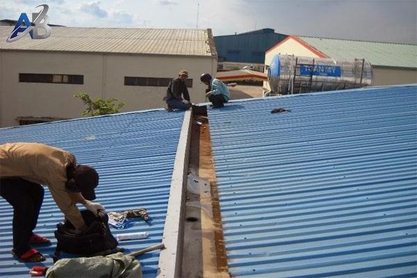 Chống dột mái tôn tại quận Bình Thạnh
