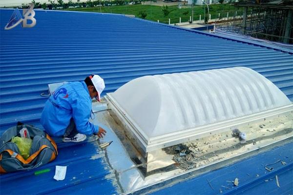 Chuyên chống dột mái tôn tại quận Tân Bình