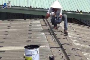 Chuyên chống dột mái tôn tại quận thủ đức