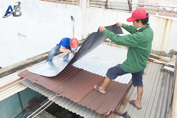 Thợ chống dột mái tôn ở tại quận 6