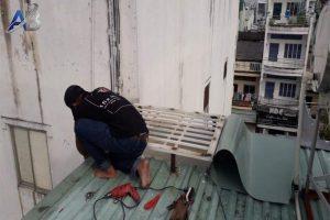 Thợ chống dột mái tôn ở tại quận bình tân
