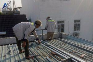 Thợ chống dột mái tôn ở tại quận tân bình