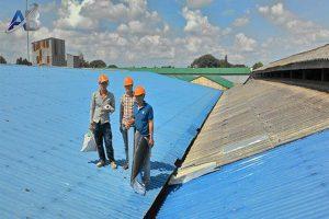 Thợ chống dột mái tôn ở tại quận tân phú