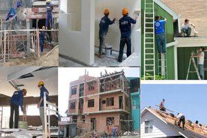 Chuyên làm sơn sửa nhà ở quận 2