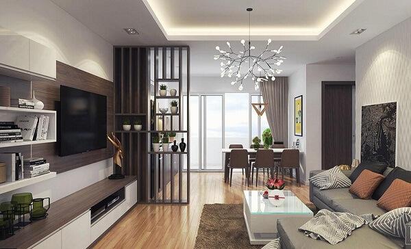 Phòng khách trong chung cư
