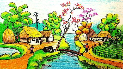 Vẽ tranh phong cảnh là gì? Các lưu ý khi vẽ tranh