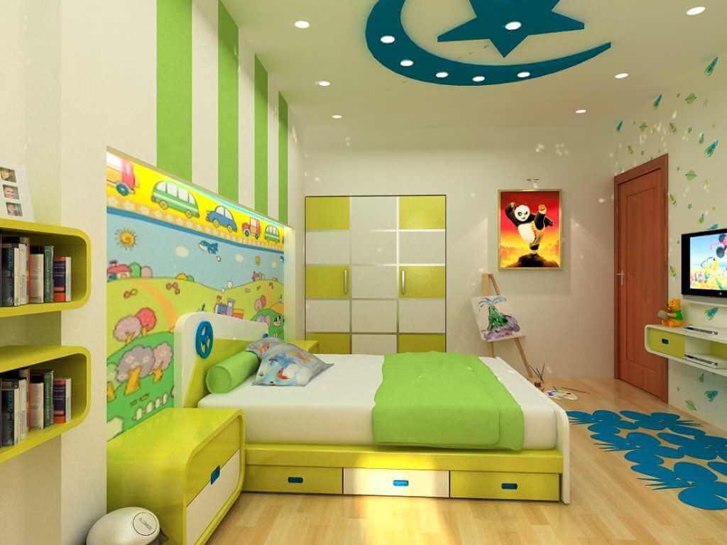 Thiết Kế Phòng Ngủ Dành Cho Trẻ Em