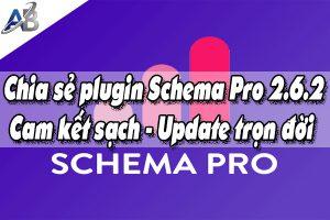 Chia sẻ plugin Schema Pro 2.6.2 - Cam kết sạch - Update trọn đời