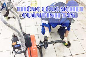 Thông cống nghẹt quận Bình Tân