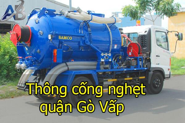 Thông cống nghẹt quận Gò Vấp